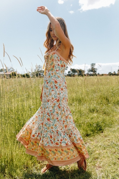 Turn To Leave Maxi Dress