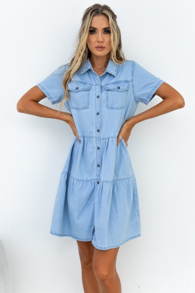 Ilana Denim Dress