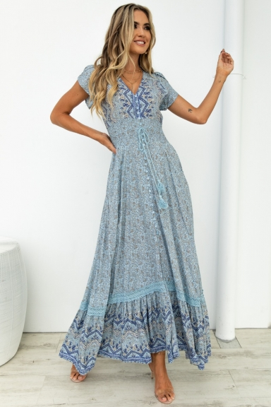 Everybody Rise Maxi Dress