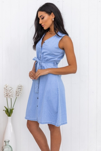 Weatherby Denim Dress