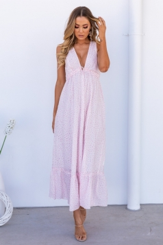 Talk The Talk Maxi Dress