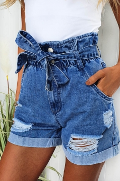 Grainger Paper Bag Shorts