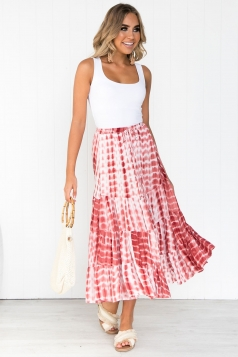 Light My Fire Maxi Skirt
