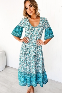 Rabbit Hole Maxi Dress