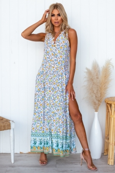 Know Your Worth Maxi Dress