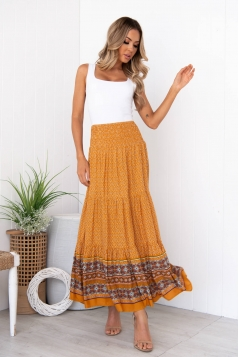 Against It All Maxi Skirt