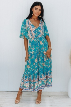 Down To The Meadow Maxi Dress