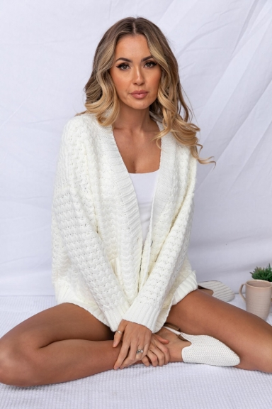 Silver Wishes Cardigan