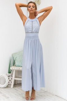 Dream Within A Dream Maxi - Pastel blue